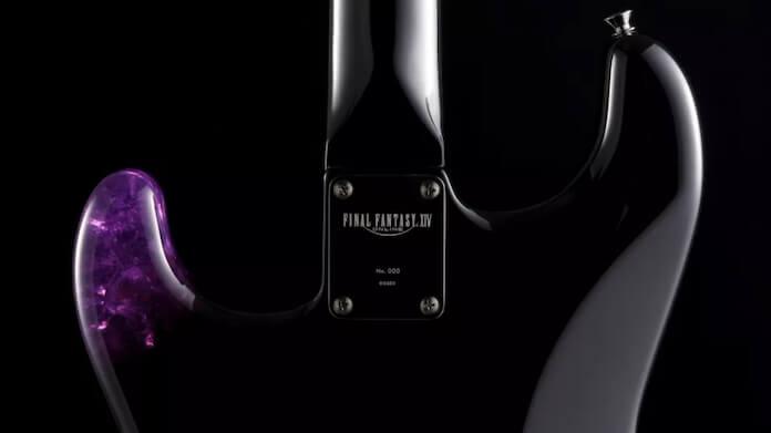 Guitarra de Final Fantasy da Fender