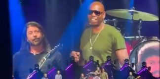 Foo Fighters toca Radiohead com Dave Chappelle