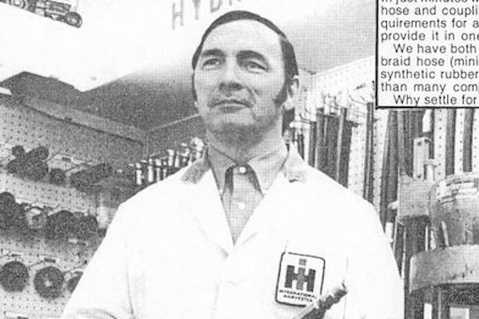 Glen Peart, pai de Neil Peart