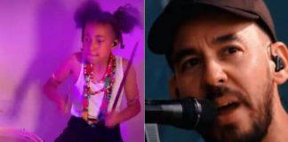 Nandi Bushell e Mike Shinoda