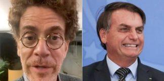 Nando Reis e Bolsonaro