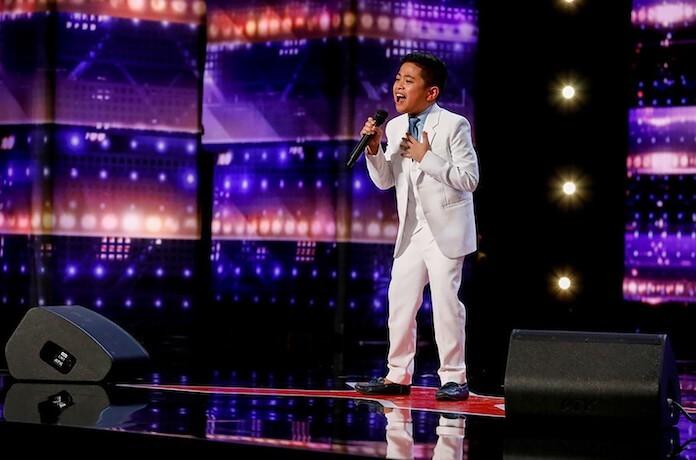 Peter Rosalita impressiona no America's Got Talent