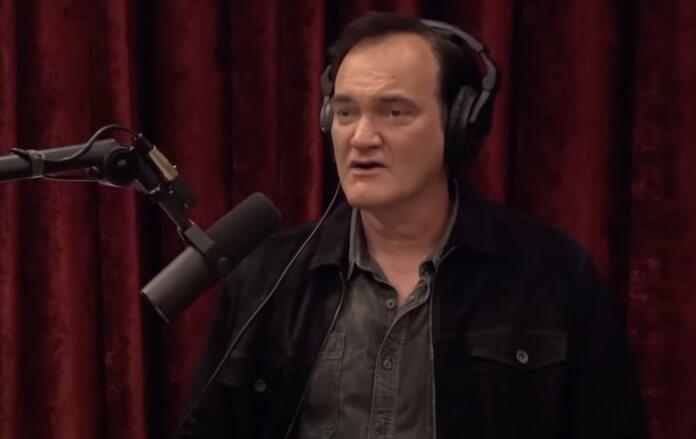 Quentin Tarantino no podcast de Joe Rogan