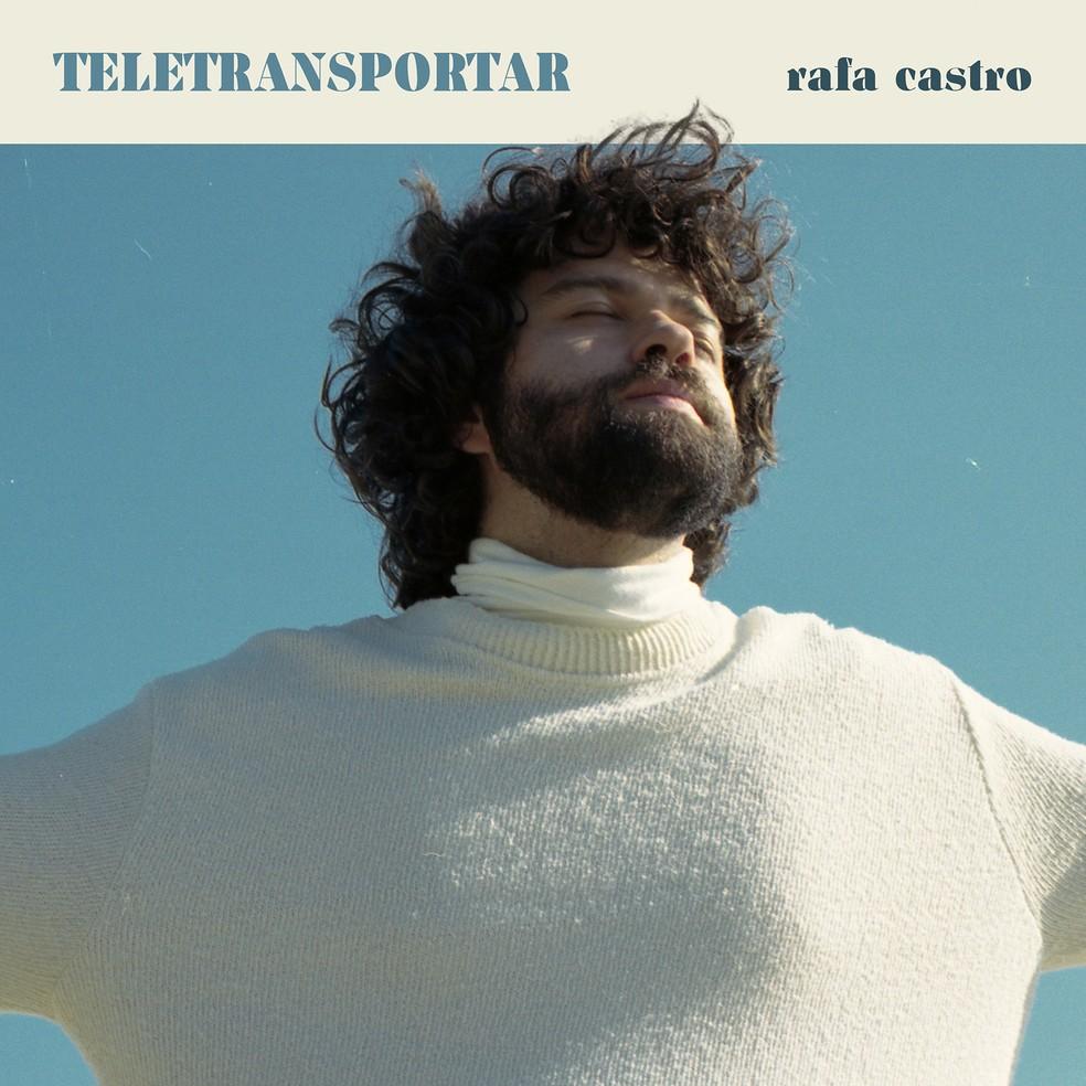 """Rafa Castro, Capa disco """"Teletransportar"""""""