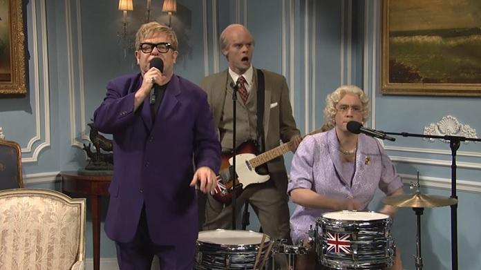 Elton John SNL Punk Rock