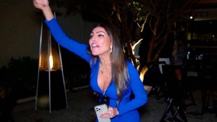 Liziane Gutierrez, Festa Clandestina, Polícia, Bolsonarista