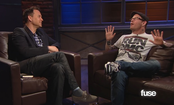 Mark Hoppus e Corey Taylor