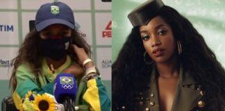 Rayssa Leal canta Iza no videokê