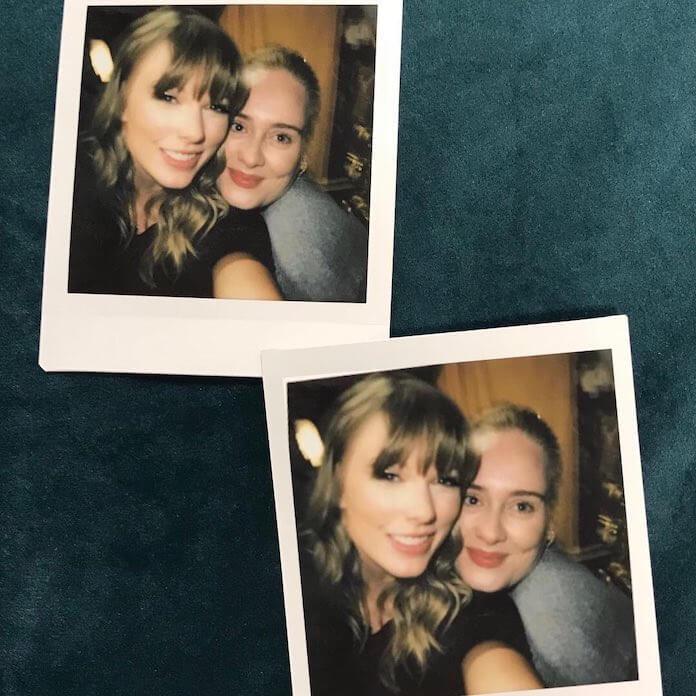 Adele e Taylor Swift