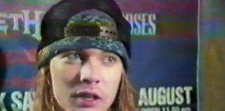 Axl Rose em entrevista de 1988