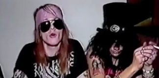 Axl Rose e Slash falam sobre estilo do Guns N' Roses