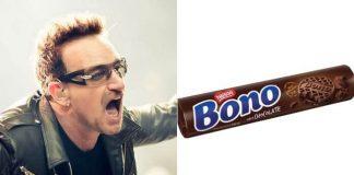 Bono e o biscoito Bono