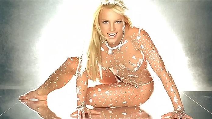 Britney Spears no clipe de
