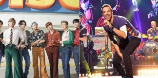 BTS e Coldplay