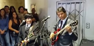Fernando Haddad celebra Dia Mundial do Rock tocando Beatles