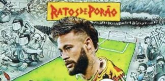 João Gordo insere Neymar em capa do Ratos de Porão