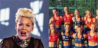 P!nk se oferece para pagar multa de atletas norueguesas que se recusaram a competir de biquíni