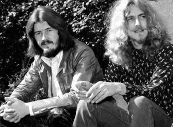 Robert Plant e John Bonham