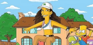 Rayssa Leal vira personagem de Os Simpsons em homenagem de cartunista