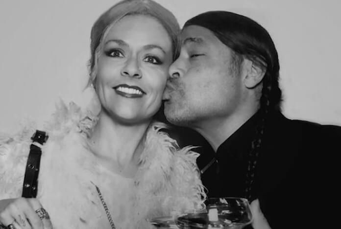 Robert Trujillo e sua esposa Chloe