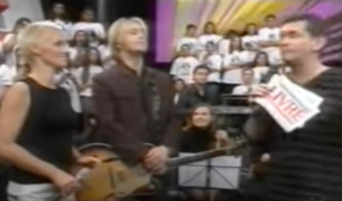 Roxette no Programa Livre em 1999