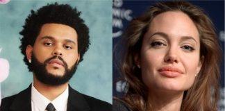 The Weeknd e Angelina Jolie são vistos juntos em jantar em Los Angeles