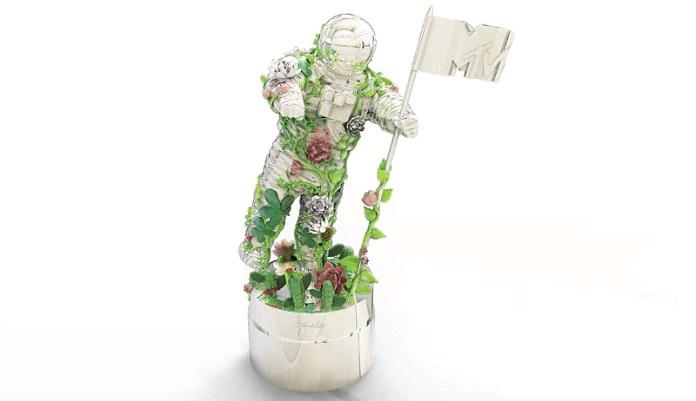 Astronauta prateado VMA MTV