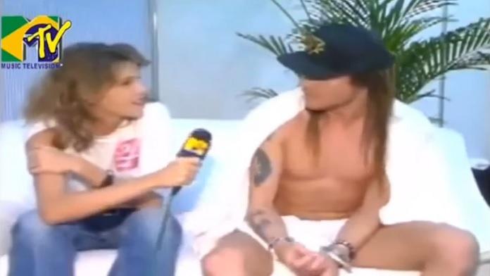Axl Rose, Rock in Rio 1991, MTV Brasil