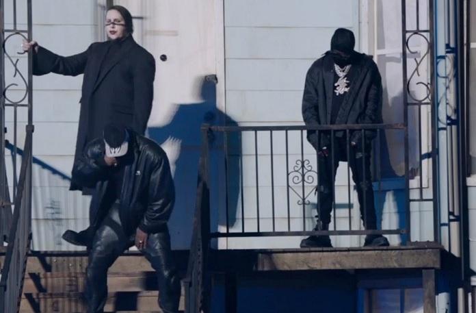 Kanye West, Marilyn Manson, DaBaby, DONDA