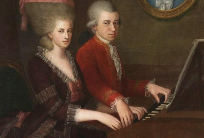 Mozart e Maria Anna, Compositoras