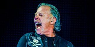 James Hetfield, líder do Metallica