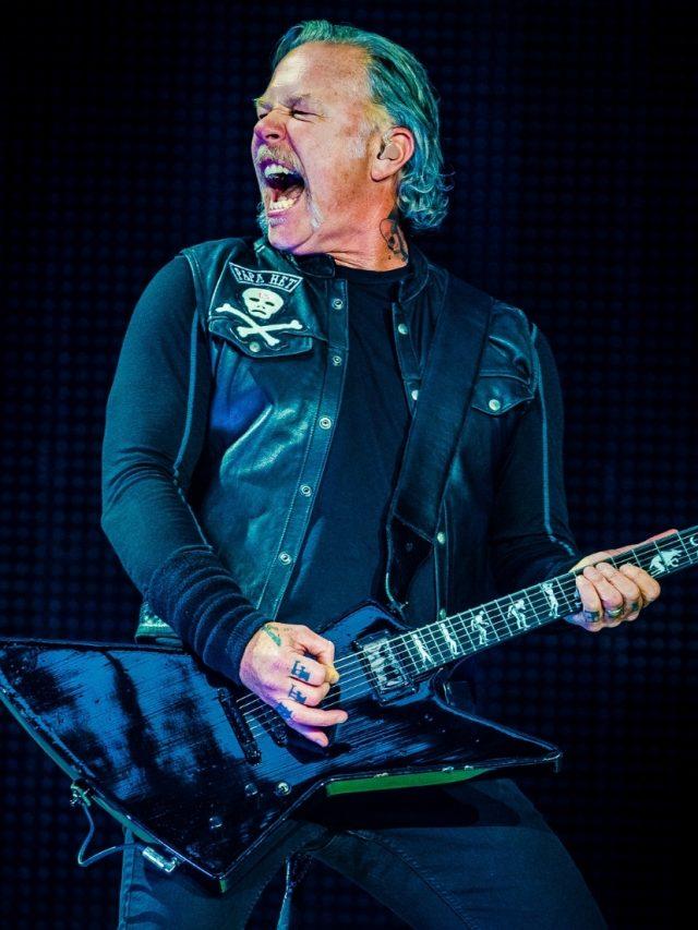 5 curiosidades sobre James Hetfield, icônico líder do Metallica