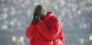 """Kanye West em evento de """"DONDA"""""""