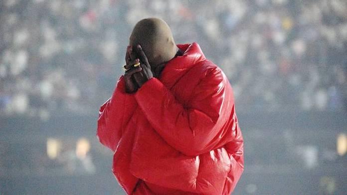 Kanye West em evento de