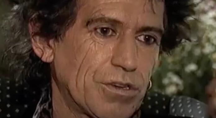 Keith Richards no programa
