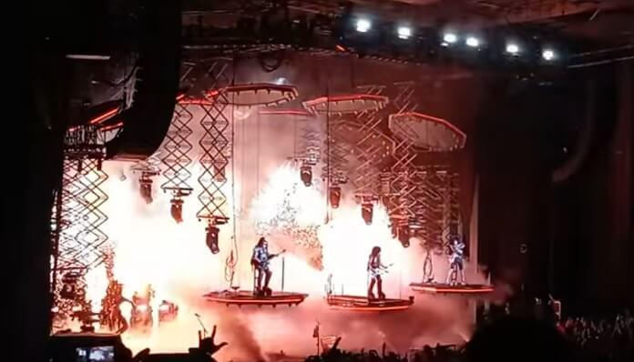 KISS está de volta aos palcos com sua turnê de despedida; veja vídeo