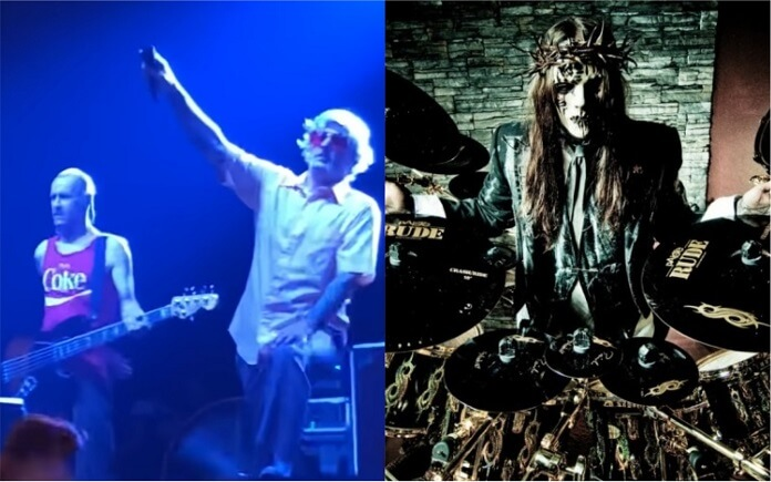 Limp Bizkit presta homenagem a Joey Jordison (Slipknot) durante show em Iowa