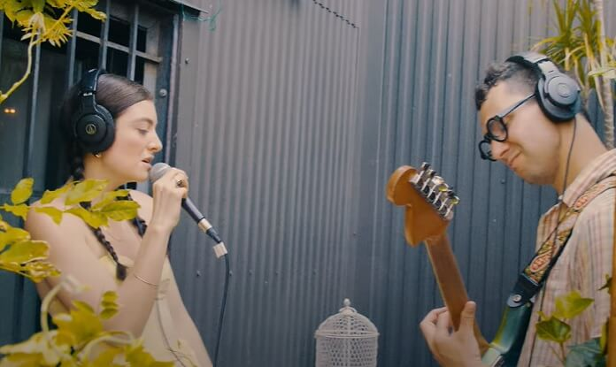 Lorde e Jack Antonoff gravam cover de