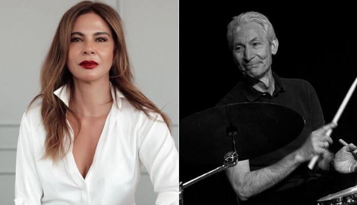 Luciana Gimenez e Charlie Watts