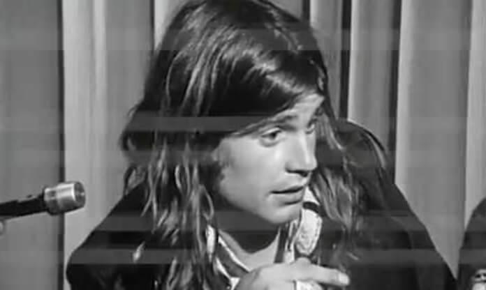 Ozzy Osbourne em entrevista com o Black Sabbath em 1973