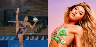 Atleta dos EUA usa música de Pabllo Vittar em apresentação de ginástica rítmica nas Olimpíadas