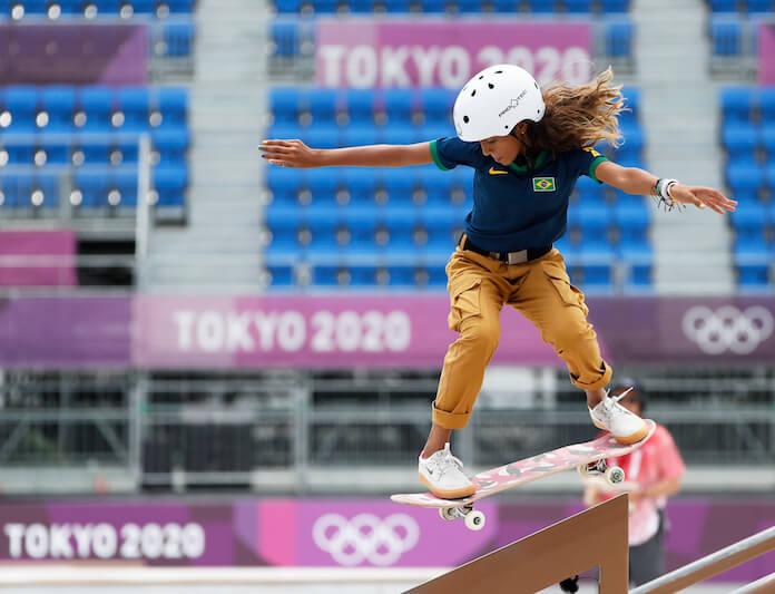 Rayssa Leal nas Olimpíadas