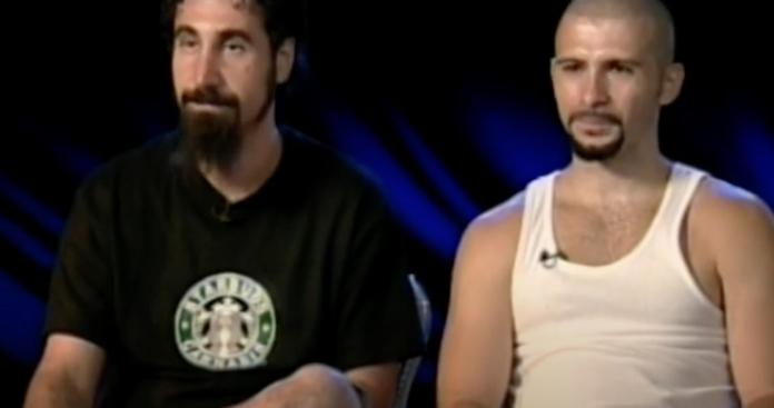 System of a Down na MTV em 2002