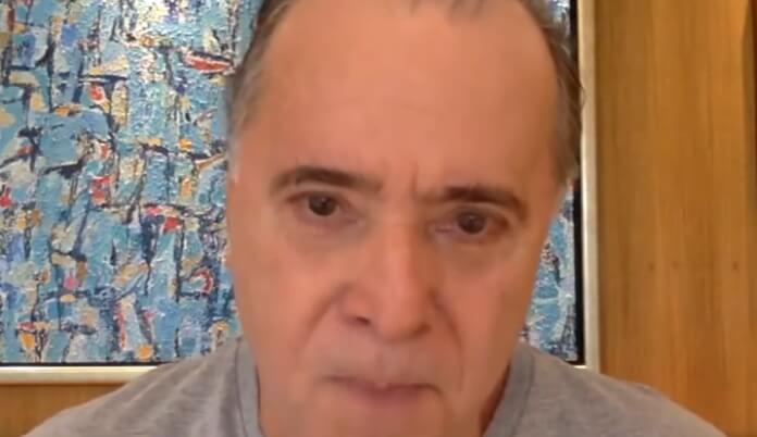 Vídeo de Tony Ramos falando sobre Tarcísio Meira