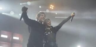 """Vídeo: YUNGBLUD e Oli Sykes fazem performance enérgica de """"Obey"""" ao vivo pela primeira vez"""