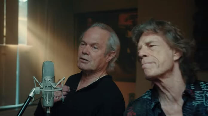 Chris Jagger e Mick Jagger