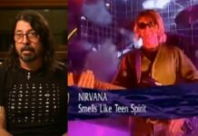 Dave Grohl, Nirvana, Top of the Pops, Smells Like Teen Spirit