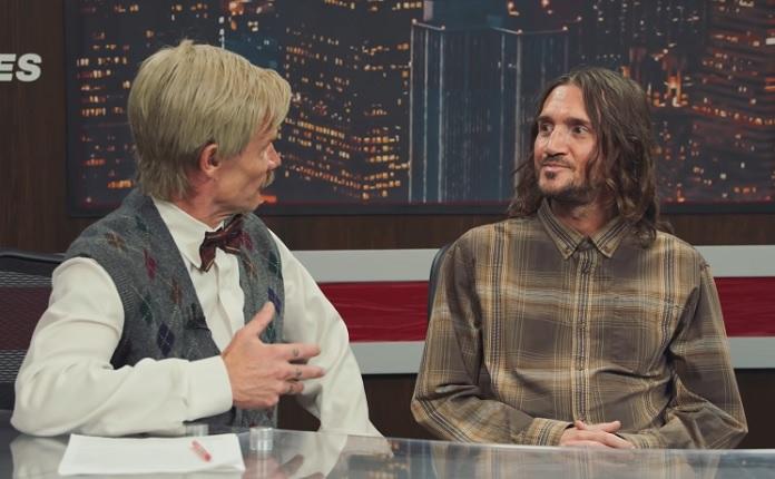 Flea, John Frusciante, Red Hot Chili Peppers