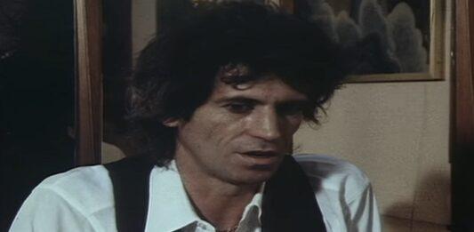 Keith Richards em 1982