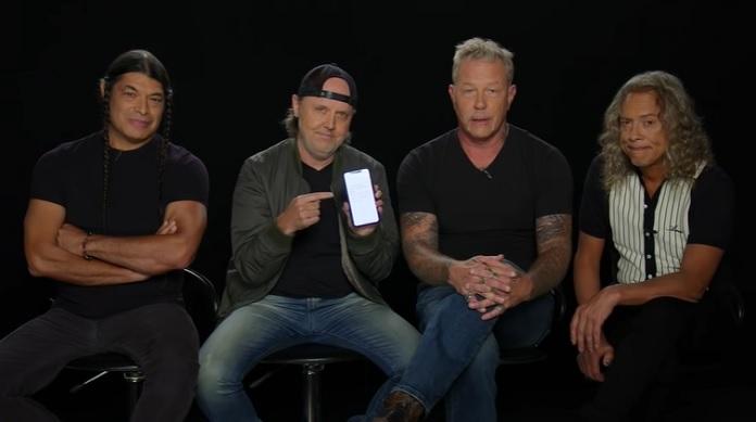 Metallica lendo resenhas do Black Album